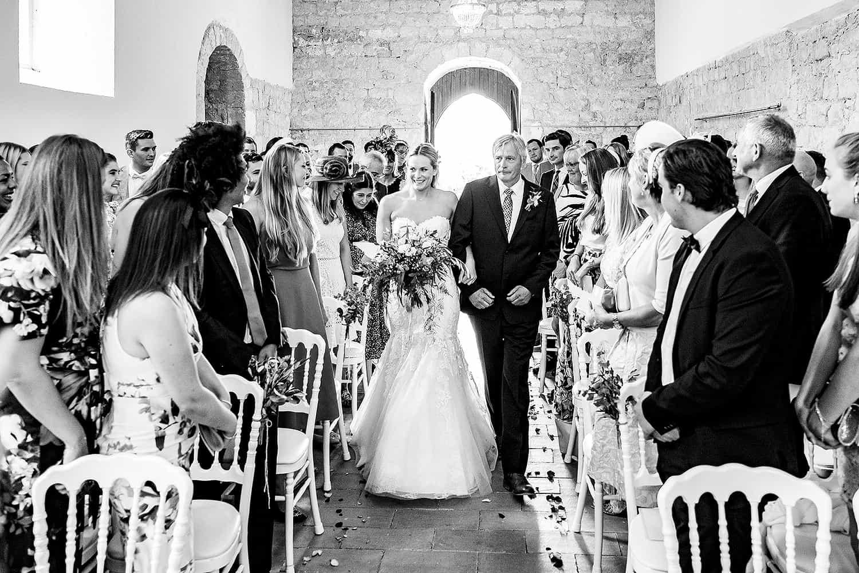 British wedding in France